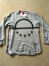 NIKE AIR PIVOT CREW SWEATSHIRT - GREY - LARGE L - RARE - LOOK!