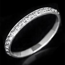 VINTAGE FILIGREE WEDDING BAND ANTIQUE DESIGN RING 14K