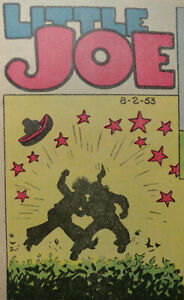 LITTLE JOE by LEFFINGWELL 24 Sundays Sonntagsseiten Full Color fast A3 1945-1954