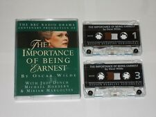 The Importance Of Being Earnest Oscar Wilde. BBC Radio Drama. 2 Cassettes 1995.