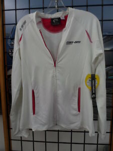 NOS Can Am Spyder Ladies Women Micro Polyester Long Sleeve Top