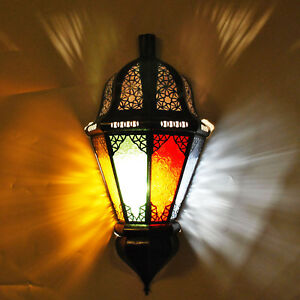 Oriental Moroccan Wall Lamp Wall Light Lampshade Balta Multi