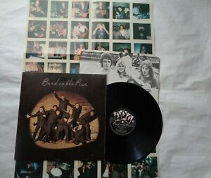 PAUL McCARTNEY & WINGS (BAND ON THE RUN) ALBUM ON APPLES RECORDS 1973