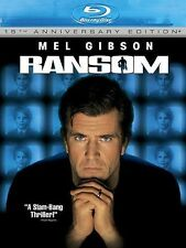 Blu Ray RANSOM. Mel Gibson. Region free. New sealed.