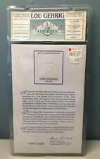 '92 Lou Gehrig Rare Classic Letter Great Estates YANKEES AUTHENTIC SEALED 04682