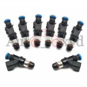 12580681  8PCS Fuel Injectors For Delphi 2004-2010 Chevy GMC 4.8 5.3 6.0 6.2L