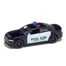 2016 Dodge Charger R/T Patrol Car US Police Welly 1:60 1:64 No. 52364