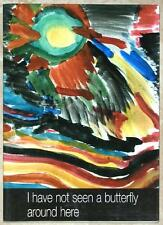 I NEVER SAW ANOTHER BUTTEFLY ~ CHILD'S ART & POEMS TEREZIN CONCENTRATION CAMP
