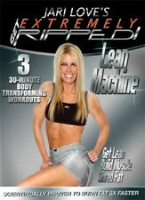 JARI LOVE GET EXTREMELY RIPPED LEAN MACHINE DVD NEW TONING WEIGHT TRAINING