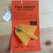 New listing Vintage Fish Seeker Fish Lure or Bait Depth Controller made in Ca Usa (lot#8442)