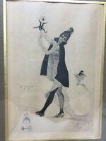 """Gravure Humoristique """" le joujou"""" 1892 Tableau Engraving Humorous 19 th"""