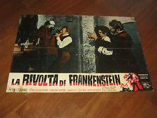 FOTOBUSTA,La rivolta di Frankenstein,The Evil of, Francis,Peter Cushing HAMMER