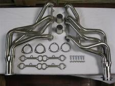 Small Block Chevy SBC V8 305 350 400 Long Tube Headers Stainless Steel Camaro