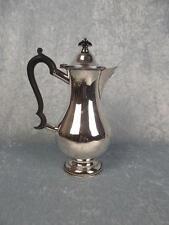 1906 London Silver Coffee Pot