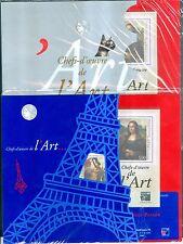 FRANCE 2 BLOC  CHEFS D'OEUVRE DE L'ART 1999 BF N° 23   NEUF