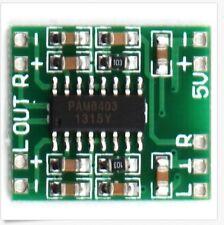 2Pcs PAM8403 Audio Modul DC 5V Mini Class-D digital amplifier board LCD TV A054