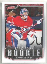 Carey Price 2007-08 Upper Deck Victory Montreal Canadiens RC ROOKIE Card #303
