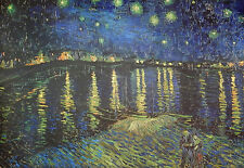 Starry Night Over the Rhone c.1888 Poster Print by Vincent van Gogh, 39 x 27""