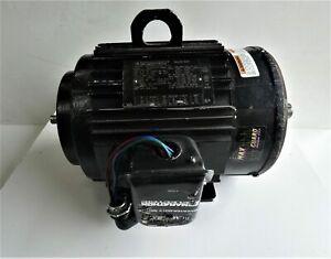 3HP Marathon JVD182THTL7726BDL Black Max Motor 3 PH, 182TC, 230/460V, 1755 RPM