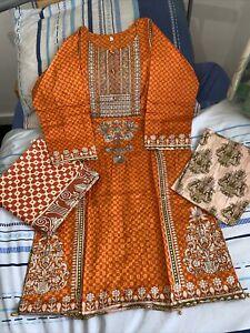 3 Piece Shalwar Kameez Pakistani Winter Shawl Lawn Suit Stitched
