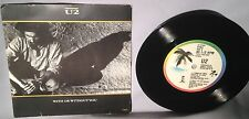 "45 7"" U2 With Or Without You EP 3 TRACKS 97054 w/PS CANADA NEAR MINT"