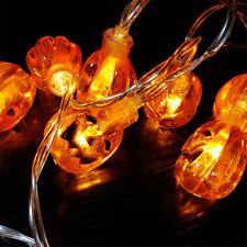 20Pcs Halloween Pumpkin Fairy String Light Outdoor Garden Party Lamp Lights 2M
