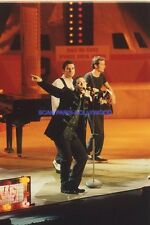 ROBBIE WILLIAMS  ON STAGE 90s DIAPOSITIVE DE PRESSE ORIGINAL VINTAGE SLIDE