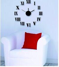 Design 1 Wanduhr 60 cm 3 D XL Wand Uhr Modern Selbst gestaltbare Do-it-yourself