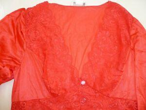 ShadowLine Long Lace 3 Button Down Robe (71737)