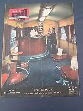 vie du rail 1953 383 Rhätische Bahn RhB ALP GRÜM viaduc WIESEN