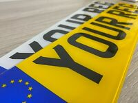 GB STANDARD MOT UK Road Legal Car Van Trailer Reg Registration Number Plates