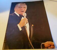 1978 Frank Sinatra Original Live Concert Tour Book Music Program man of the hour