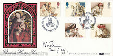 1984 Xmas - Benham BOCS Off - Ely H/S - Signed by REV. W. PATERSON