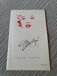 Marilyn! The Musical. London Adelphi Theater Program 1983