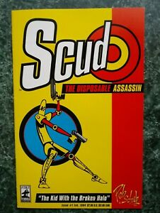 Scud the Disposable Assassin #1 VF- (1994 FIREMAN PRESS) 1st Print HTF 1st Issue