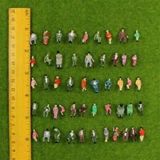 100Stk. 1:87 sitzende Figuren Menschen Spur Modelleisenbahn H0 Pose L9P1