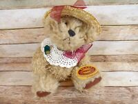 """8"""" Pickford Bears Plush """"Rosie"""" Brass Button Collectibles Stuffed Animal Toy"""