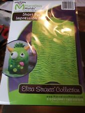 Marvelous Molds Short Fur Silicone Impression Mat by Elisa Strauss | Cake