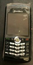 BlackBerry Pearl 8100 Black Cell Phone Vintage Fast Shipping MINT Refurb Used