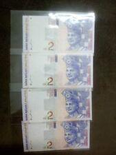 (BN-0043) 1996 Malaysia 2 Ringgit x 4, R/N - Ori UNC