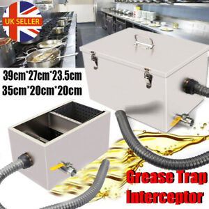 Commercial Grease Trap Interceptor Fat Traps Restaurant Takeaway Wastewater UK