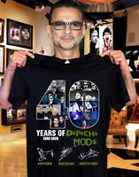 40 Years Of Depeche Mode Tee Shirt Size S-5XL