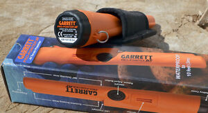 GARRETT WATERPROOF metal detector pinpoint  PROBE  Treasurelanddetectors ltd