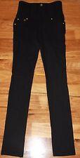 Womens Gorgeous Black Stretch Pants BNWOT - Pizzuto - Size 8