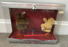 Steiff Teddy Bears with Seesaw, Replica 1924 Ean  0132/24 #277 NRFB LOOK Nice!