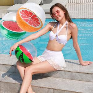 Creative Inflatable Balls Simulation Watermelon Rubber Ball Beach Ball Pool T AG