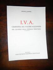 ACAMPORA I.V.A L'IMPOSTA sul VALORE AGGIUNT0nelQUADRO D.RIFORMA TRIBUTARIA 1972