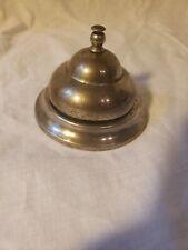Vintage Metal Service Counter Bell, Ding, Front Desk, Bell Hop,Teacher's Desk