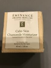 Eminence Organics Calm Skin Chamomile Moisturizer New 2 FL OZ
