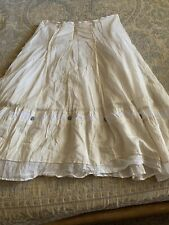 Cop.copine 100% Cotton Gorgeous Skirt, Size Two